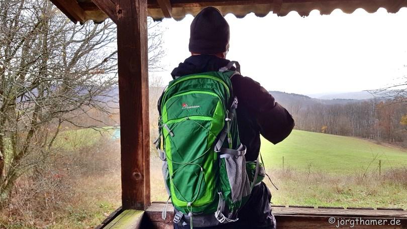 Der Mountaintop Rucksack 40 L in Aktion