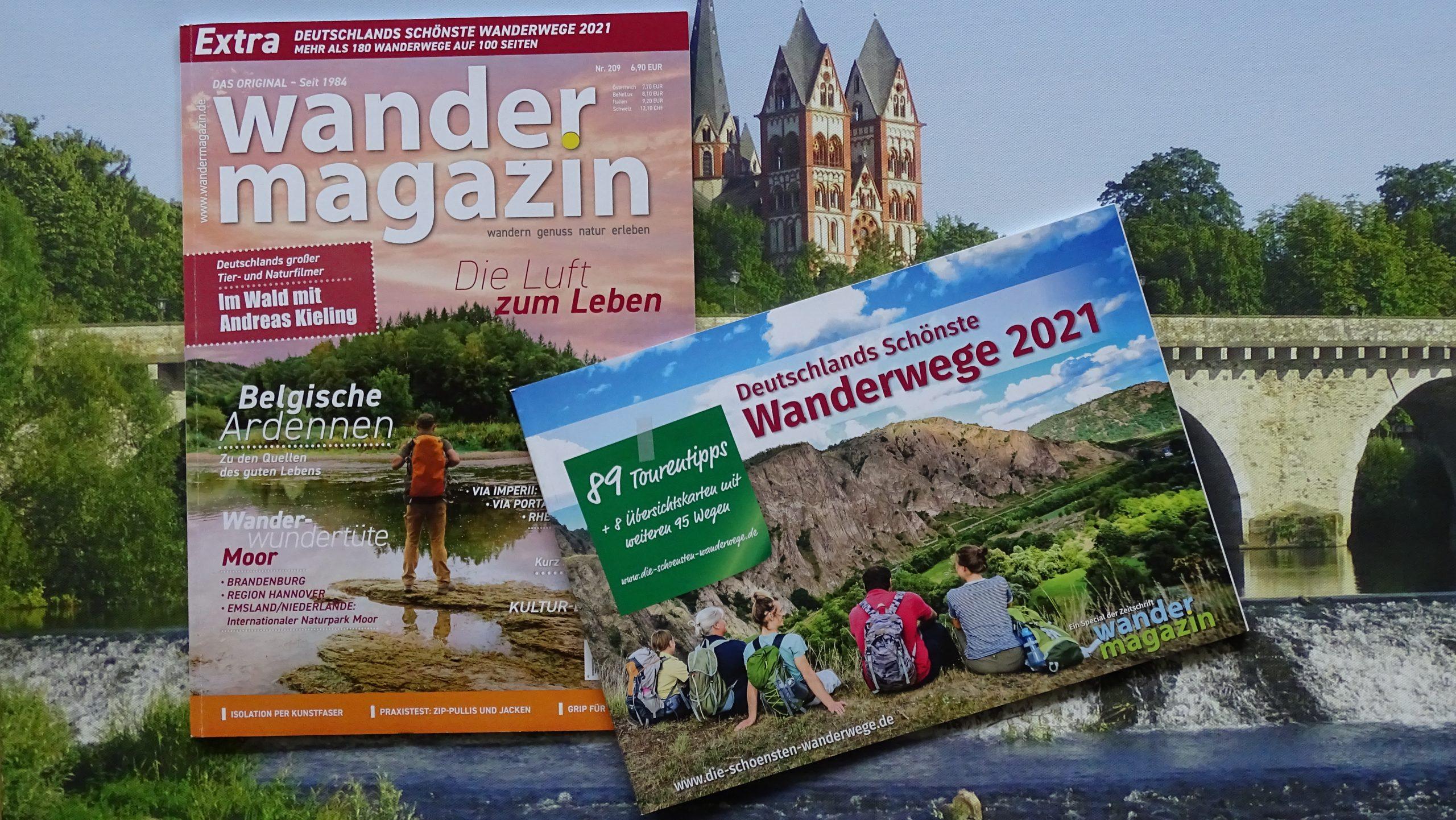 Deutschlands schönster Wanderweg 2021 - Wahlstudio geöffnet | Outdoorsuechtig