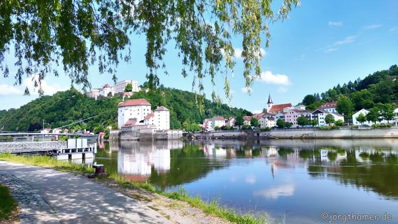 An der Donau in Passau