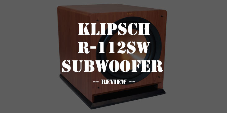 Klipsch R-112sw Subwoofer Review