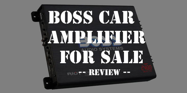 Boss car amplifier for sale