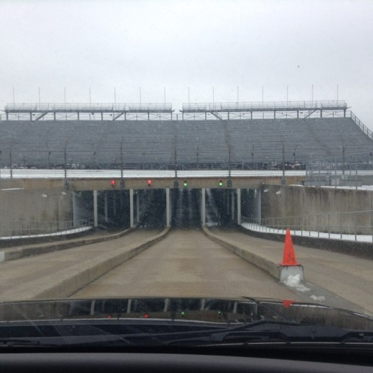 Inside the Speedway