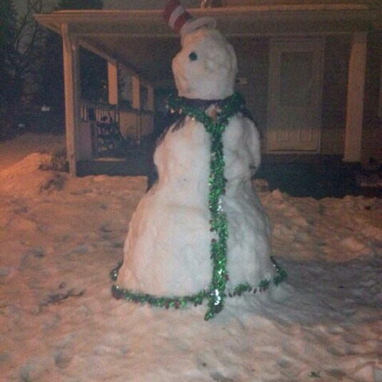 Frosty...The real one!