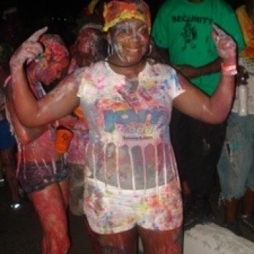 My first J'ouvert morning rocked!