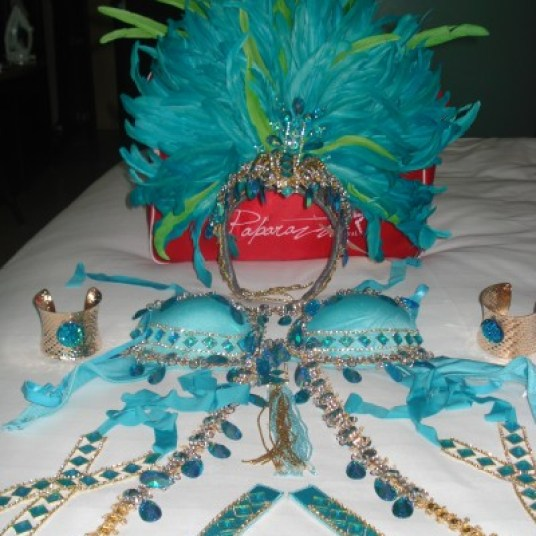 Carnival Tuesday Costume and Accesories