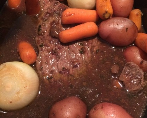 pot roast slow cooker recipe