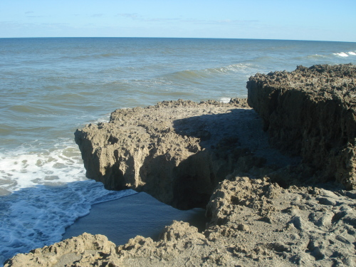 Blowing Rocks Preserve Jupiter florida