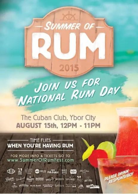 summer of rum 2015