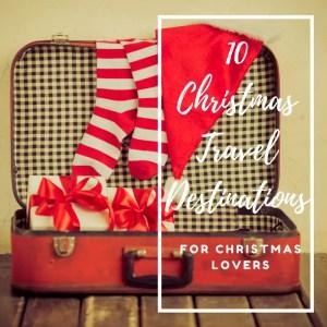christmas travel destinations