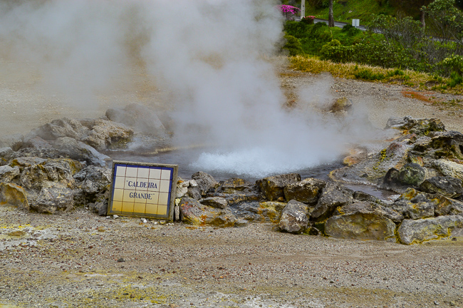 Caldeiras Furnas sao miguel azores hot spring