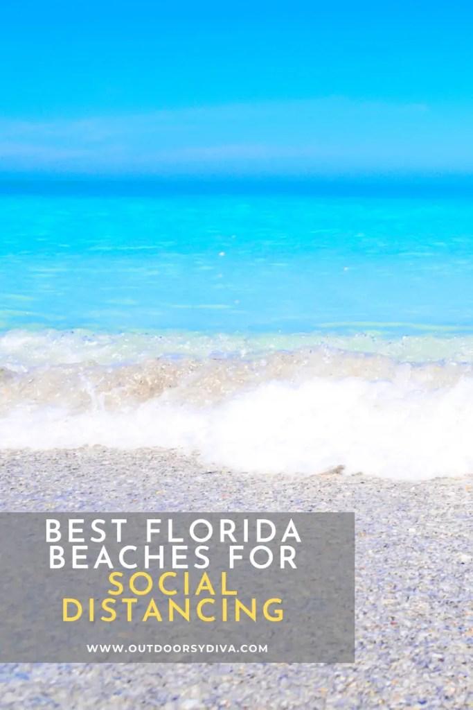 quiet beaches in florida