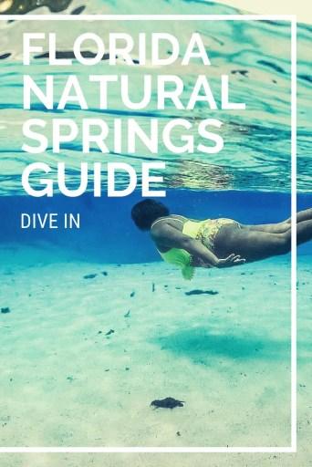 natural springs in florida