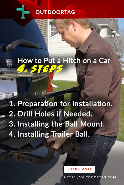 How to Put a Hitch on a Car 4. Steps