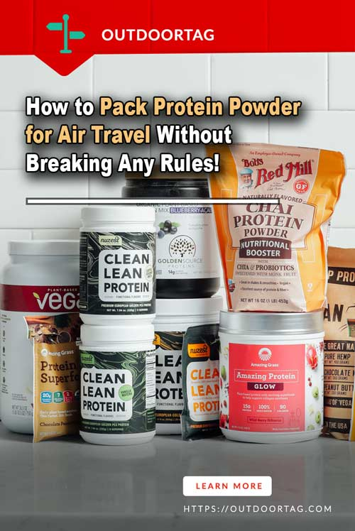How to Pack Protein Powder for Air Travel Without Breaking Any Rules