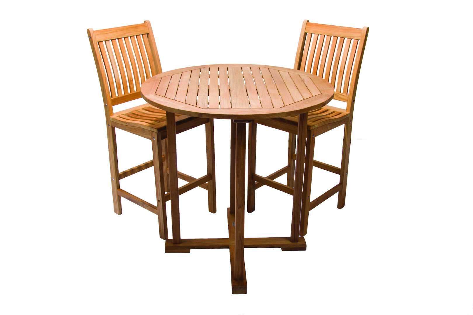 Royal Teak Collectionu0027s Teak Bar Table With Teak Bar Chair