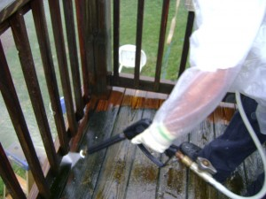 Deck Pressure Washing Nashville