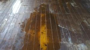 Deck stripping