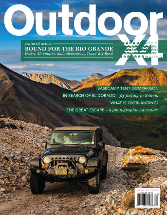 Issue 1 - American Adventure, Overlanding, Outside Magazine