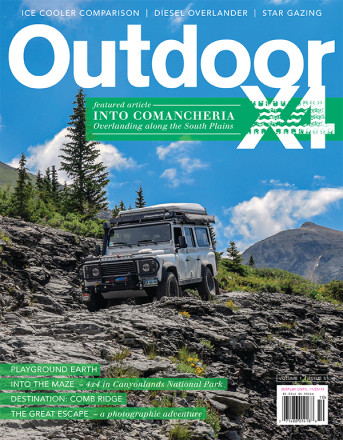 Issue 5 - Camping, American Adventurist, Outside Magazine