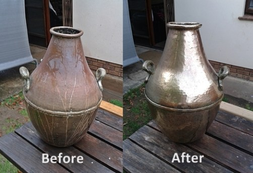 Urn Before After
