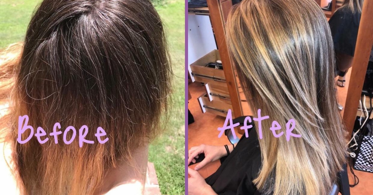 foils-highlights-outer-banks-blonde-hair-hairoics-before-after-1