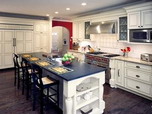 Shiloh hardwood kitchen cabinets Custom Kitchens Outer Banks