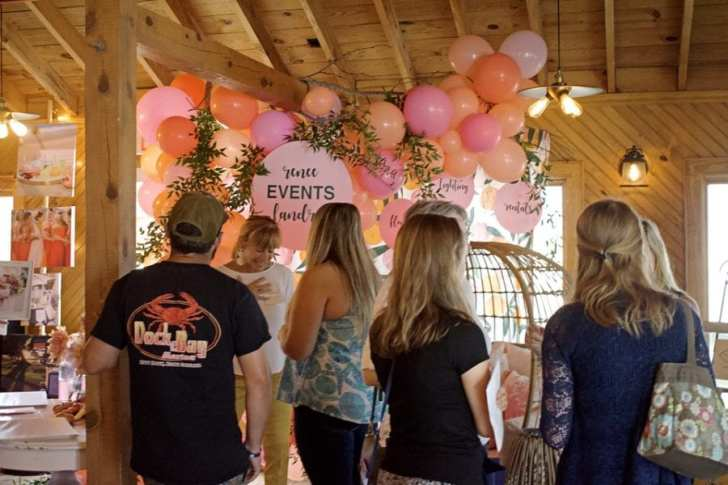 Highlighting the quality of Outer Banks wedding vendors, the OBX Wedding Expo was held at Kitty Hawk Pier (pictured) and Jennette's Pier. Photo Kip Tabb