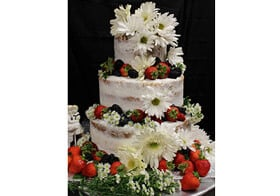 Outer Banks Gluten Free Wedding Cake