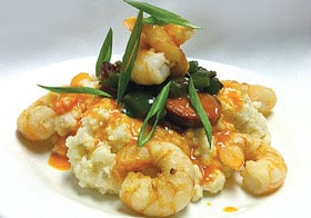 Sugar Creek Shrimp and Grits