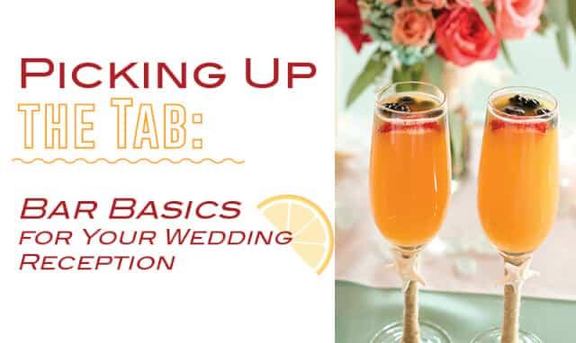 wedding bar ideas