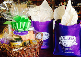 Bacchus Wine & Cheese Bistro Catering