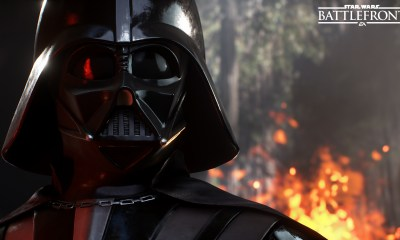 Darth Vader on Endor