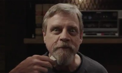 Mark Hamill Shaving