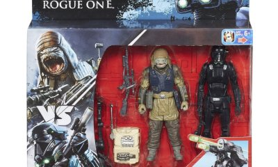 Rogue One Death Trooper Vs Pao 2-Pack