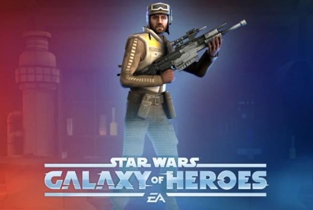 Galaxy of Heroes Scarif Rebel