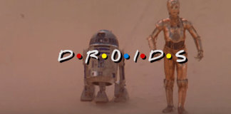 Friends and Droids Mashup