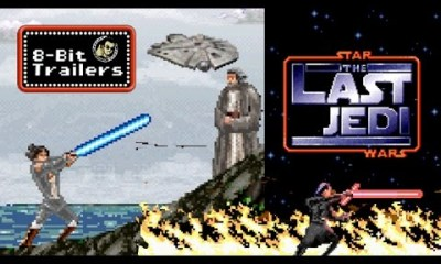 8-Bit Star Wars The Last Jedi Trailer