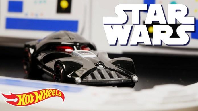 Star Wars Hot Wheels parody