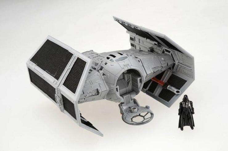 Darth Vader TIE Advanced Star Wars Transformers figure.