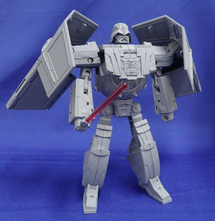 Darth Vader TIE Advanced Star Wars Transformers figure