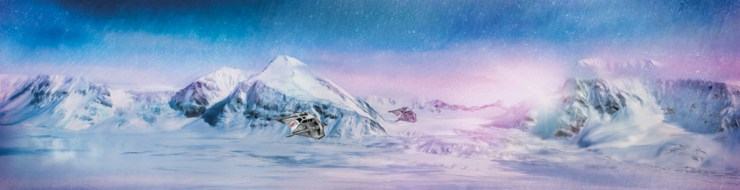 Star Wars Daybreak on Hoth by Rich Davies Lithograph Art Print