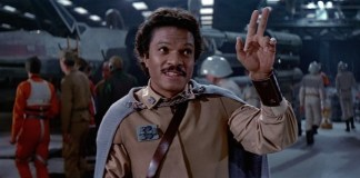 Lando Calrissian from Return of the Jedi