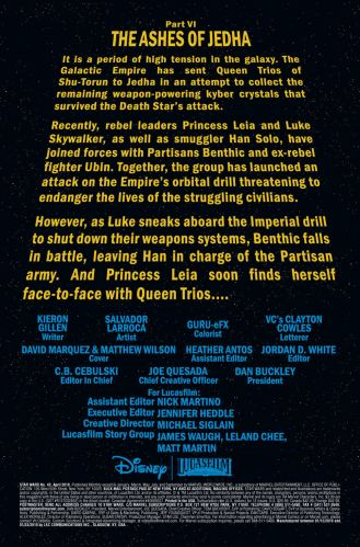 Star Wars 43 Preview page