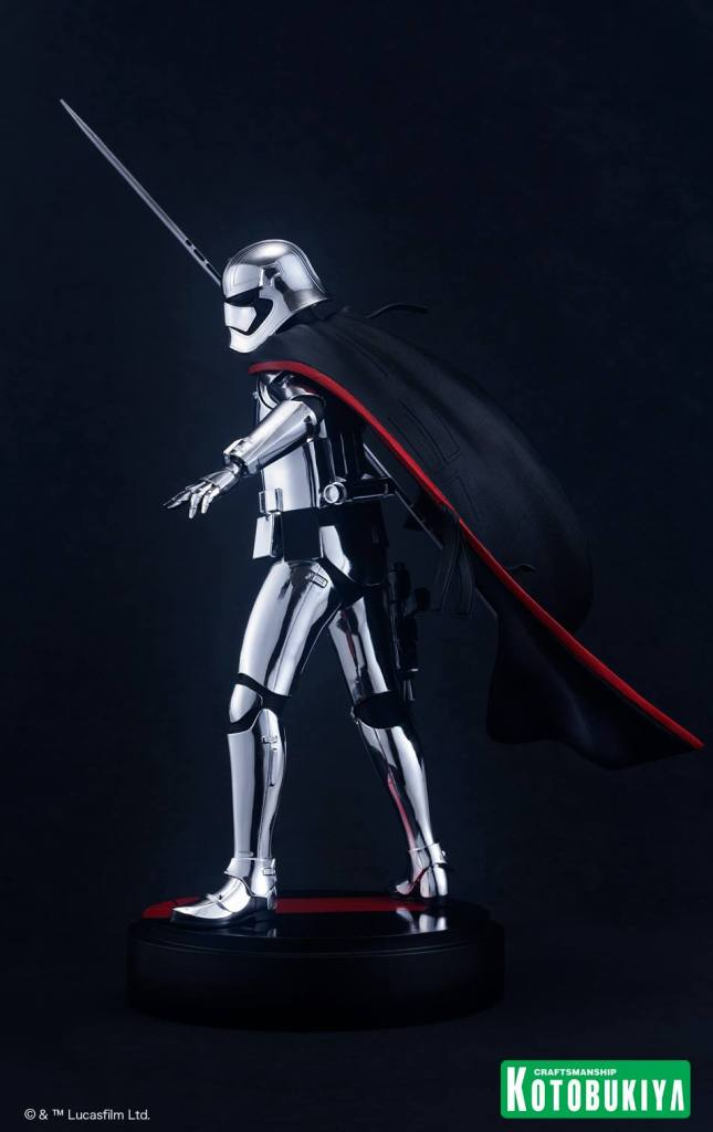 Star Wars The Last Jedi Captain Phasma ARTFX statue