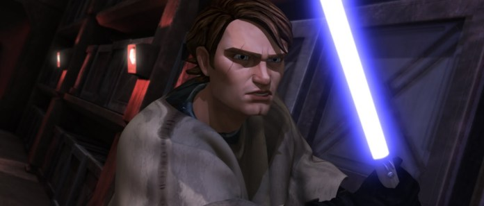 Anakin Skywalker from Star Wars: The Clone Wars