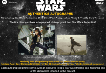 Star Wars Authentics 2019 Blind Pack Autographed Photo & Trading Card