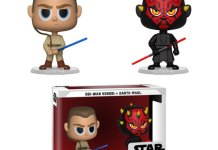 Star Wars Darth Maul and Obi Wan Vynl. Figure 2-Pack