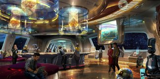Concept Art for Star Wars Hotel at Disney Parks