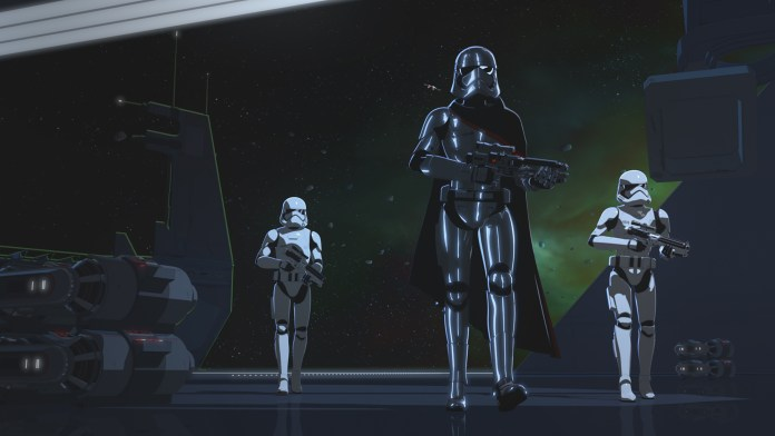 Star Wars Resistance - Station Theta-Black Preview