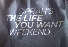 Oprah's The Life You Want Weekend Swag bag